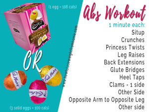 Easter Egg workout solid eggs